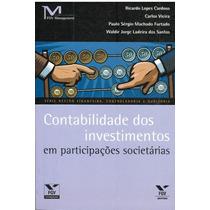 Contabilidade Dos Investimentos Em Participações Societárias