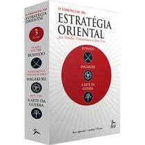 Box Essencial Da Estratégia Oriental 3 Livros Arte Da Guerra