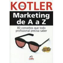 Marketing De A A Z Livro Philip Kotler