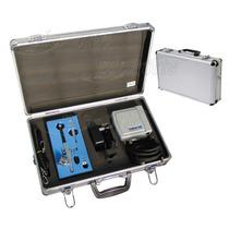 Kit Aerógrafo Profissional Bico 0,2mm + Compressor E Maleta