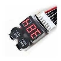 Alarme Voltagem Baixa P/ Bateria Lipo 2s - 8s Trex 450 Jr