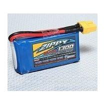 Bateria Lipo Zippy 1300mah 3s 20c Avião E Planador