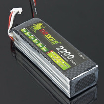 Bateria Lipo 11.1v 2200mah 40c 3s Trex 450 Trex450 Tarot Hk