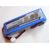 Bateria Lipo Tx 2650ma -3s-1c P/rádios Futaba/jr/turnigy/etc