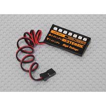 Monitor Led Para Bateria Life E Lipo 2 Células - 6.6v - 7.4v