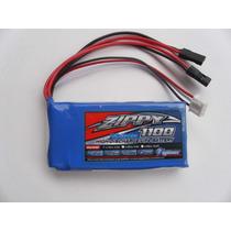 Bateria Lifepo4 6.6v 1100mah - P/receptores Radio Controle