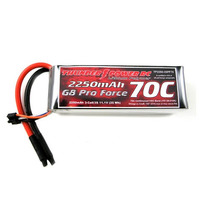Bateria Lipo Thunder Power 3s 2250 Mah G8 Pro Force 70c