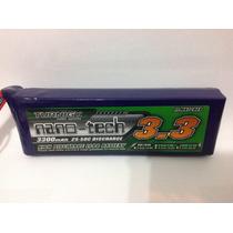 Bateria De Lipo Turnigy Nano-tech 3s 3300mah 11,1v / 25-50c