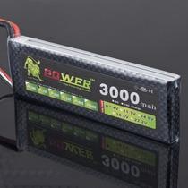 Bateria Lipo 7.4v 3000mah 40c 2s Traxxas E-revo Hpi Turnigy
