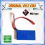 Bateria Original V912 Wl Toys 850 Mah 2s 7,4v