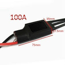 Esc Speed Control 100a Bec 5a Brushless Trex 500 600 700
