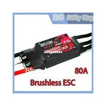 Esc Speed Control Mystery 80a Brushless Lipo Trex 500 550