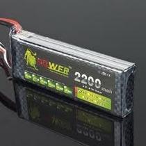 Bateria Lipo 7.4v 2200mah 40c 2s Turnigy Tamiya Hobbyking