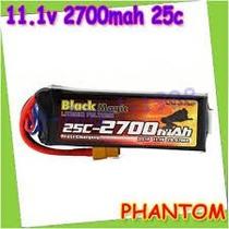 Bateria Lipo 11.1v 2700mah 25c 3s Quadricoptero Dji Phantom