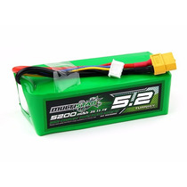 Bateria Lipo 5200mah 3s 10c 11.1v Multistar Drones E Qrx350