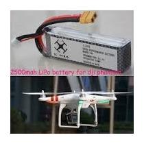 Bateria Lipo 11.1v 2500mah 30c 3s Quadricoptero Dji Phantom