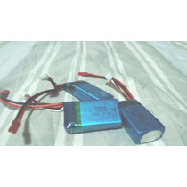 Bateria Drone 7.4v 1000mah V262 V353 V912 Mjx F46 V333 Wltoy