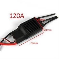 Esc Speed Control 120a Ubec 5v Brushless Motor Lipo Turnigy