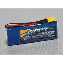 Bateria Lipo Zippy 1600mah 2s 20c 7.4v