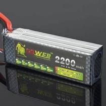 Bateria Lipo 3s Lion Power 11,1v 25c 2200mah(pronta Entrega)