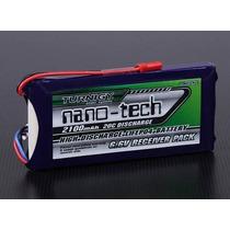 Bateria Life 2100mah 2s 6.6v 20c Tunigy Nanotech Receptor Rx