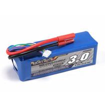 Lipo Bateria 3000mah 6s 60c Turnigy Trex Hk Walkera 500