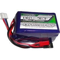 Bateria Life 2s - 6.6v 1700mah Para Receptores De Rádio Rx