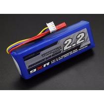 Bateria Lipo P/ Rádio Turnigy 9xr 11,1v (3s) 2200mah (31315)