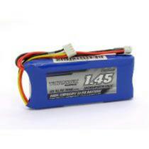 Bateria Lipo Turnigy 1450 Mah3s 11.1v 1c Para Rádio Controle