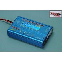 Imax B6 Carregador E Balanceador Bateria Lipo Life Nicd Nimh