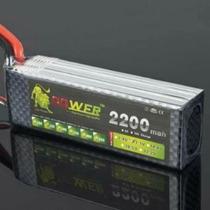 Bateria Lipo 11.1v 3s 2200mah 40c Turnigy Zippy Ace Gens