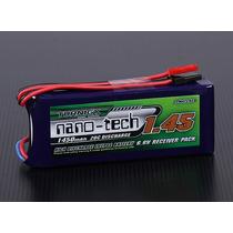 Bateria Turnigy 1450mah Life 2s 6.6v 20c Rádio Jst & Futaba