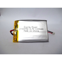 Bateria 3,7v 1100mah Li-po Recarregavel Energy Power