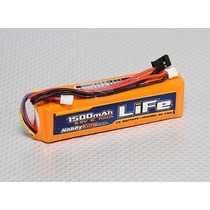 Bateria Radio Tx 1500mah Life 3s 9.9v Jr Spektrum Futaba