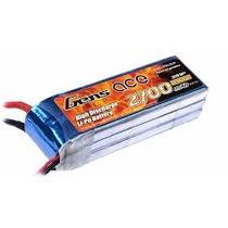 4 Bateria Lipo Gens Ace 2700mah 3s 11.1v 25c Xt60 P/ Phantom