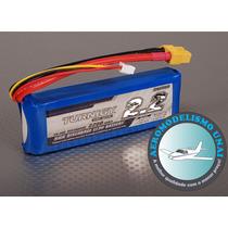 Bateria Turnigy Lipo 2200mah 2s 7,4v 30c Airsoft V913 Avião