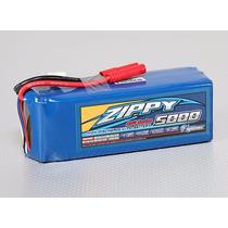 Bateria Zippy Flightmax 5000mah 6s 25c Lipo Pack. Nota 10!