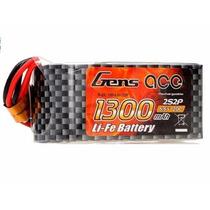Bateria Life 2s 6.6v 1300mah 20c Futaba Xt60 Gens Ace
