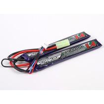 Lipo Bateria Airsoft 1400mah 2s 15-25c Turnigy Mini Tamiya