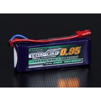 Lipo Bateria 950mah 2s 25c 7.4v Turnigy Nano-tech