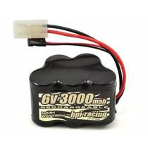 Bateria Hpi Nimh 6v 3000mah P/ Receptor Baja 5b 2018