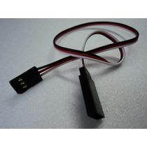 Extensão Para Servos - 50cm Conectores Padrão Jr/futaba