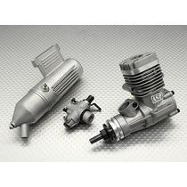 Motor Asp S25aii Two Stroke Glow Engine W/remote Needle
