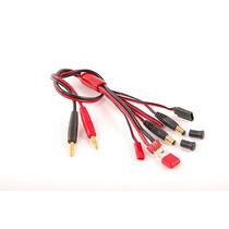 Cabo Multi-plugs Turnigy - Para Carregador Accucel, Imax B6