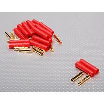 Conector Hxt 4mm C/ Protetor Unidade - Plug Servos Extensão