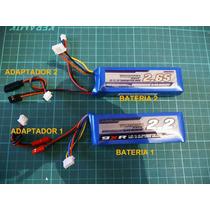 Adaptadores De Bateria Para Radio Turnigy 9x