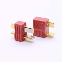 Plug Conector Deans T Macho + Fêmea (par) - Original