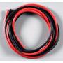 Fio Siliconado Awg18-alta Descarga-30cm-preto/30cm-vermelho