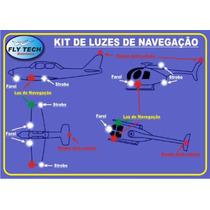 Luzes De Navegação Para Aeromodelos - Lançamento
