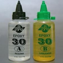 Cola Epoxy Pro-br De 30min. C/ 200ml P/ Madeira Balsa